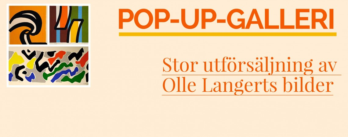 POP-UP-GALLERI på Ålgårds kvarn!